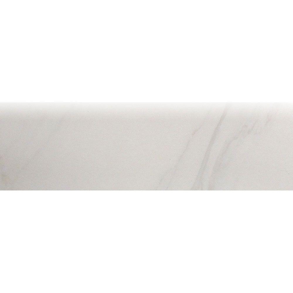 Us ceramic tile carrara blanco 3 in x 12 in ceramic 287 us ceramic tile carrara blanco 3 in x 12 in ceramic 287 surface bullnose dailygadgetfo Gallery