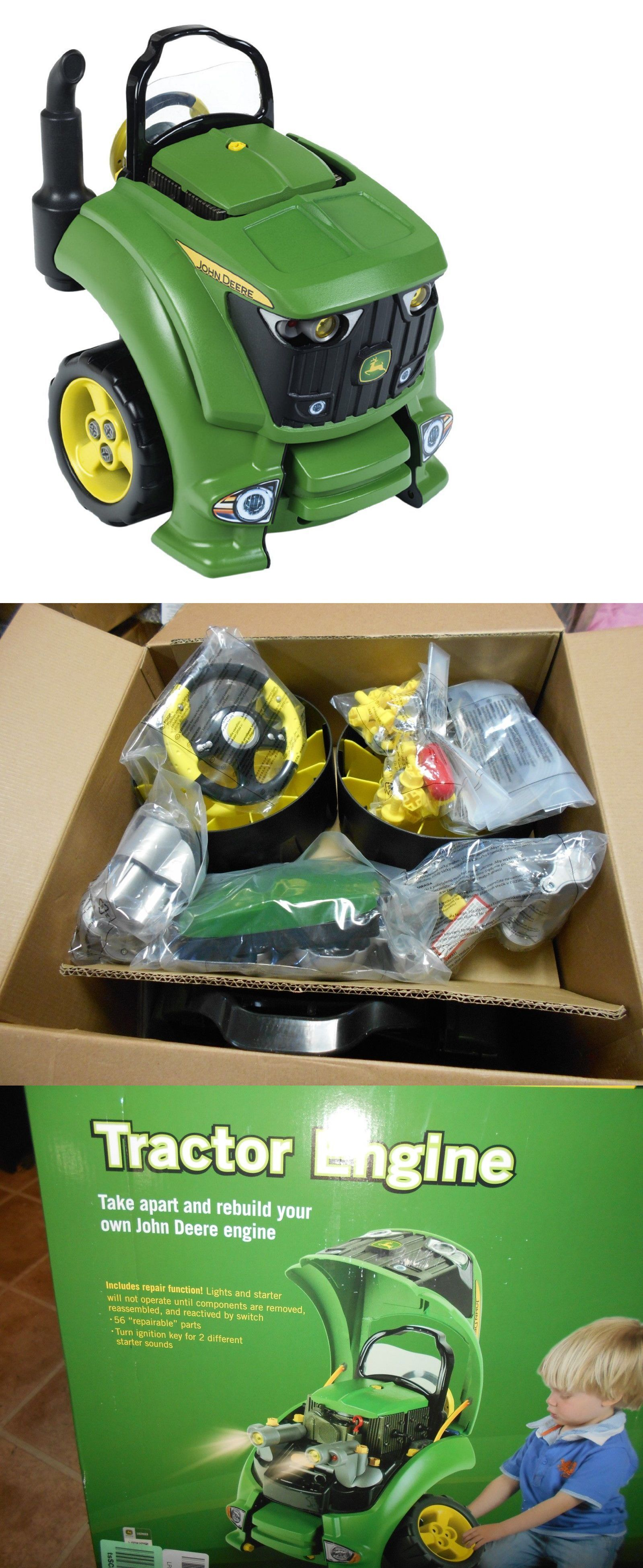 tool sets 158747 kids toy car engine motor repair fix pretend