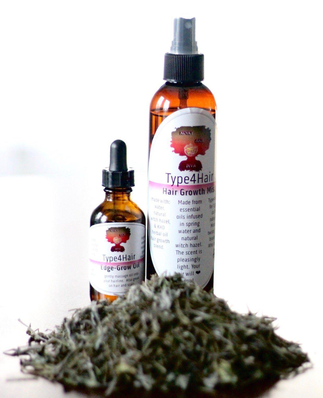 Type4Hair Mist & Oil Duo Healthy hair tips, Prevent thin