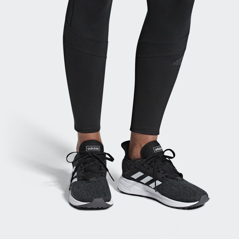 346a2b28d5 Duramo 9 Shoes Black Womens | 2019 Wishlist | Adidas, Black adidas ...