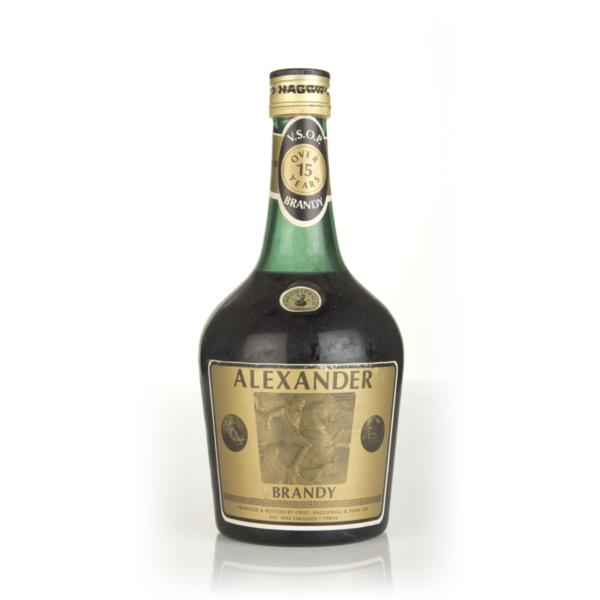 Alexander 15 Year Old Vsop Brandy 1970s Products Antique