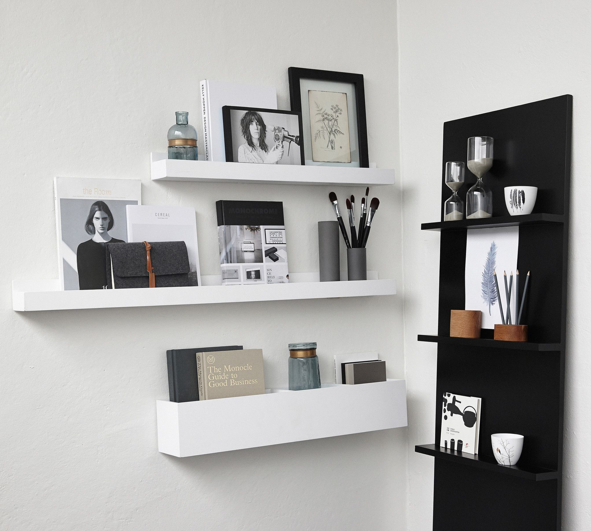 Wall shelves with picture frames gallery craft decoration ideas new in  white wood shelves for art