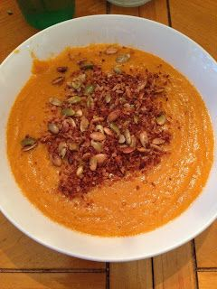 Clean eating sweet potato soup, clean eating soup, clean eating soup recipes