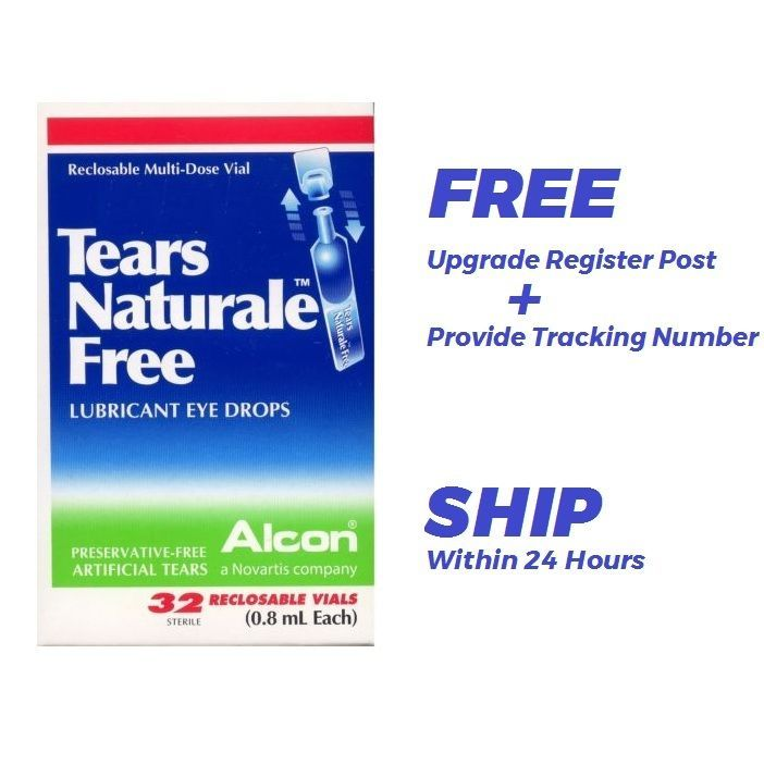 Best Price Alcon Tears Naturale Lubricant Eye Drops 32vial 0 8ml Free Ship Alcon Lubricant Eye Drops Eye Drops Lubricant