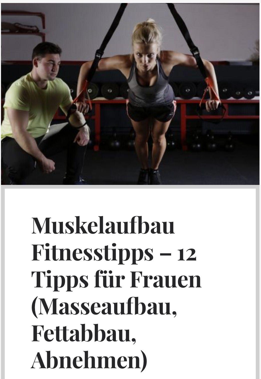 abnehmen muskelaufbau frau