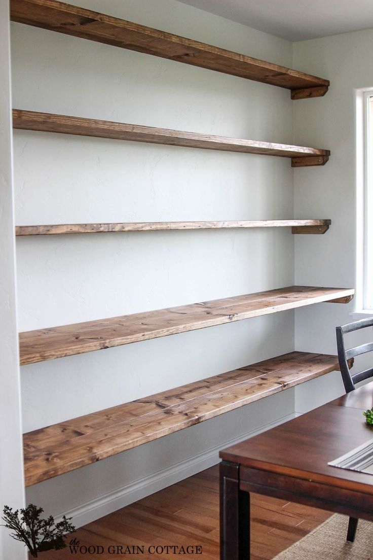 Charming rustic shelves and how to add them to modern spaces   - DIY-Projekte -