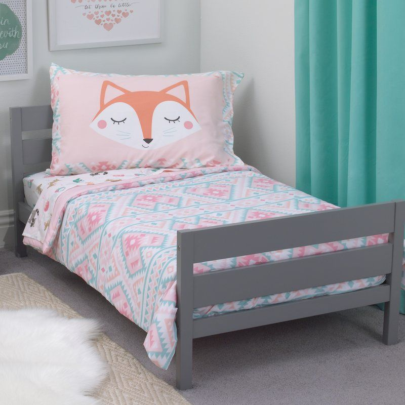 Bring The Great Outdoors In With Aztec Girl 4 Piece Toddler New Toddler Bedroom Set Design Inspiration