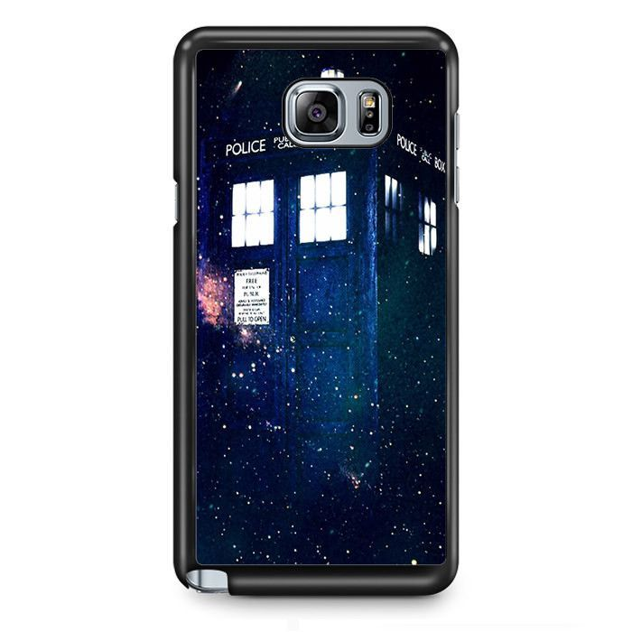 Doctor Who Tardis In Space Widescreen TATUM-3528 Samsung Phonecase Cover Samsung Galaxy Note 2 Note 3 Note 4 Note 5 Note Edge