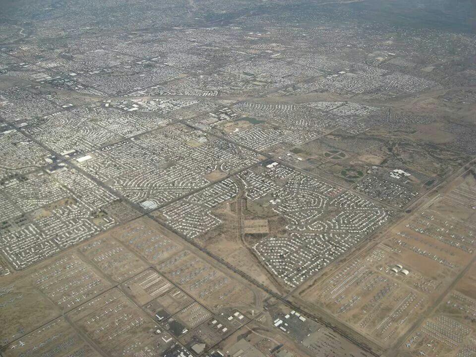 Tucson airplane grave yard Tucson az, Tucson, History