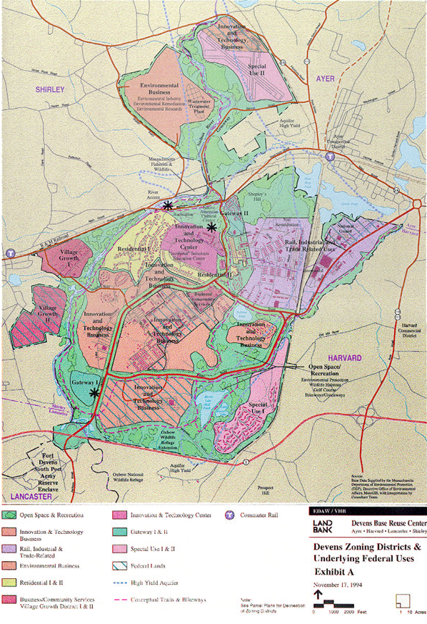Devens zoning map | Maps | Map on