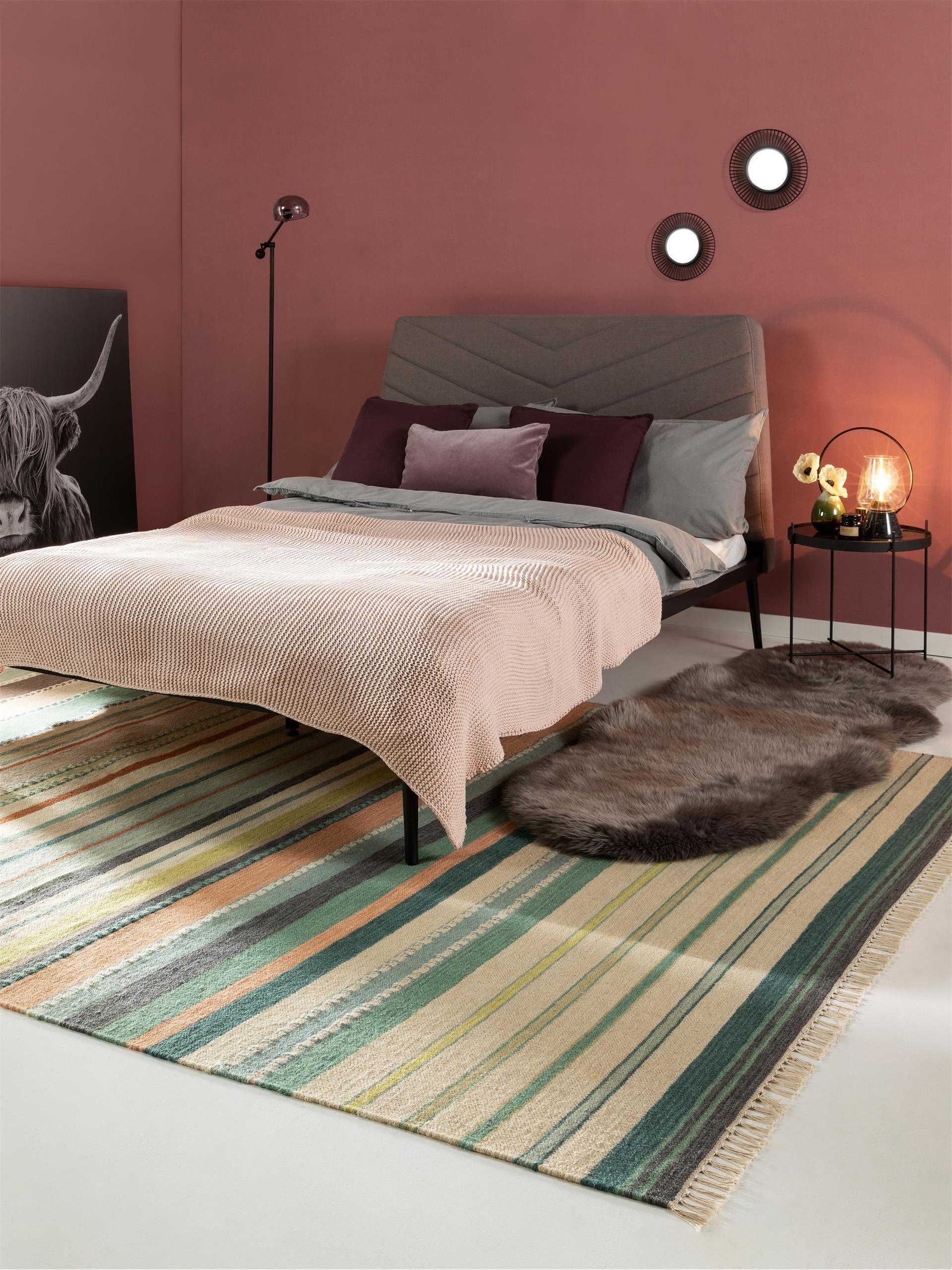 Wollteppich Ella Beige Multicolor In 2020 Mode Schlafzimmer