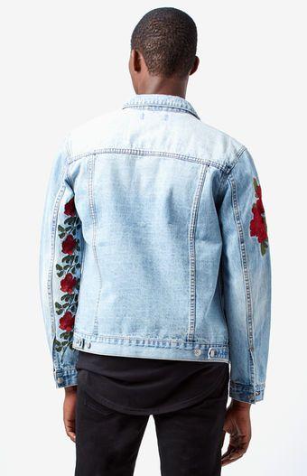 Rose Denim Trucker Jacket Daring Denim Pinterest Denim