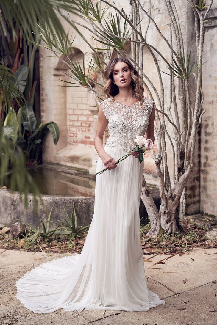 Aria Wedding Dress By Anna Campbell Wanderlust Collection