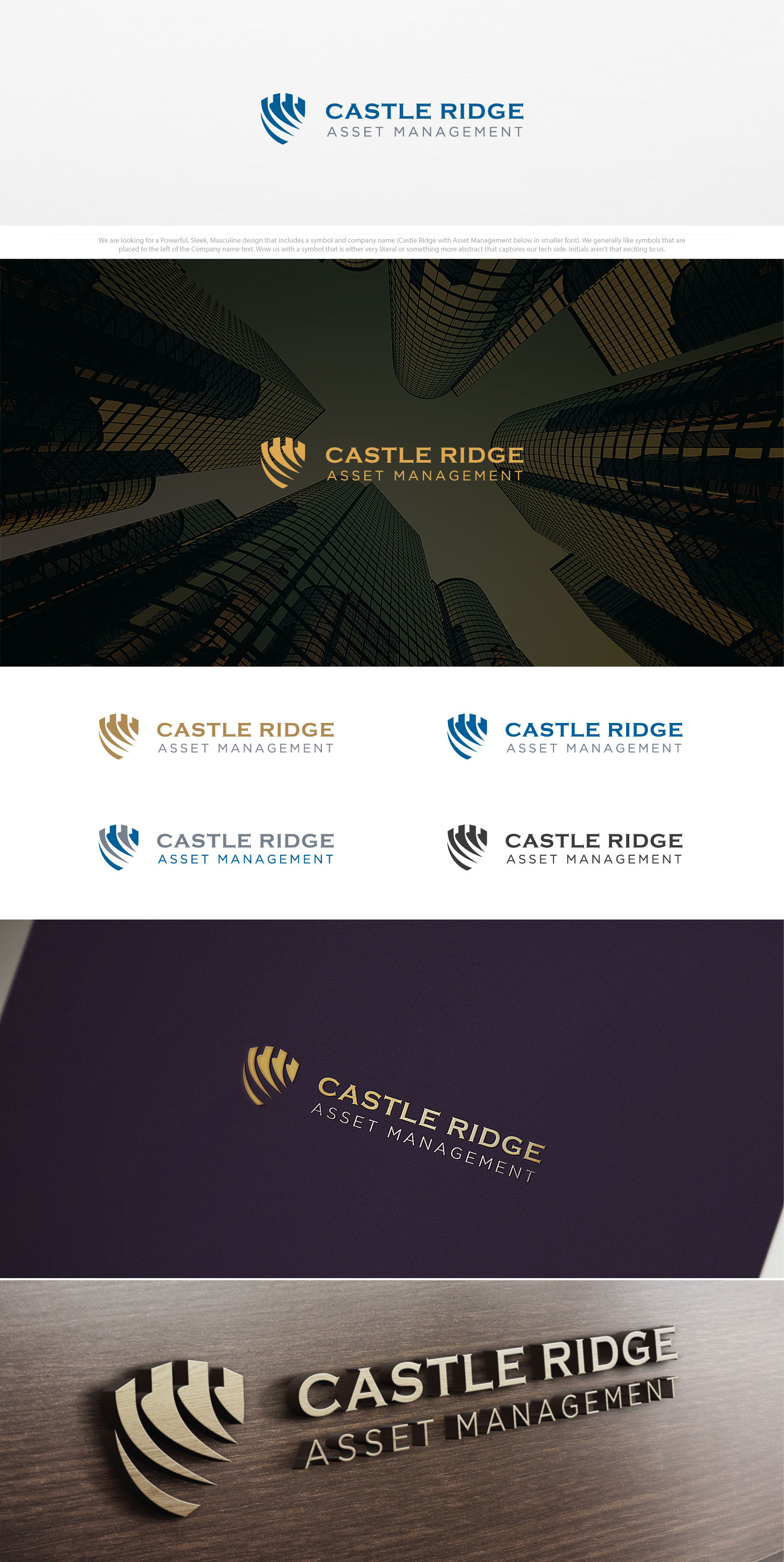 Logo Design representing security and trust for asset