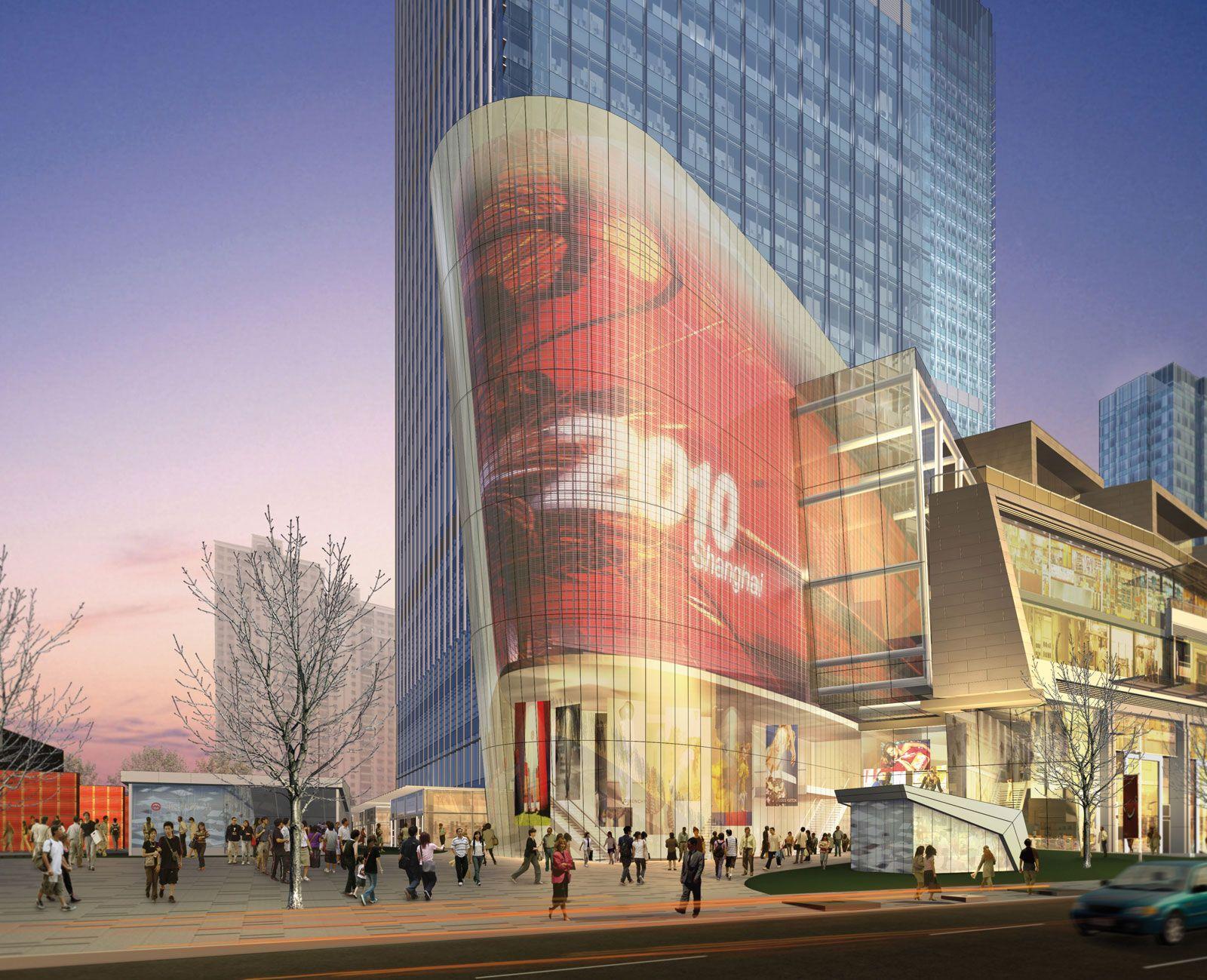 Shanghai ICC Benoy shopping mall Pinterest