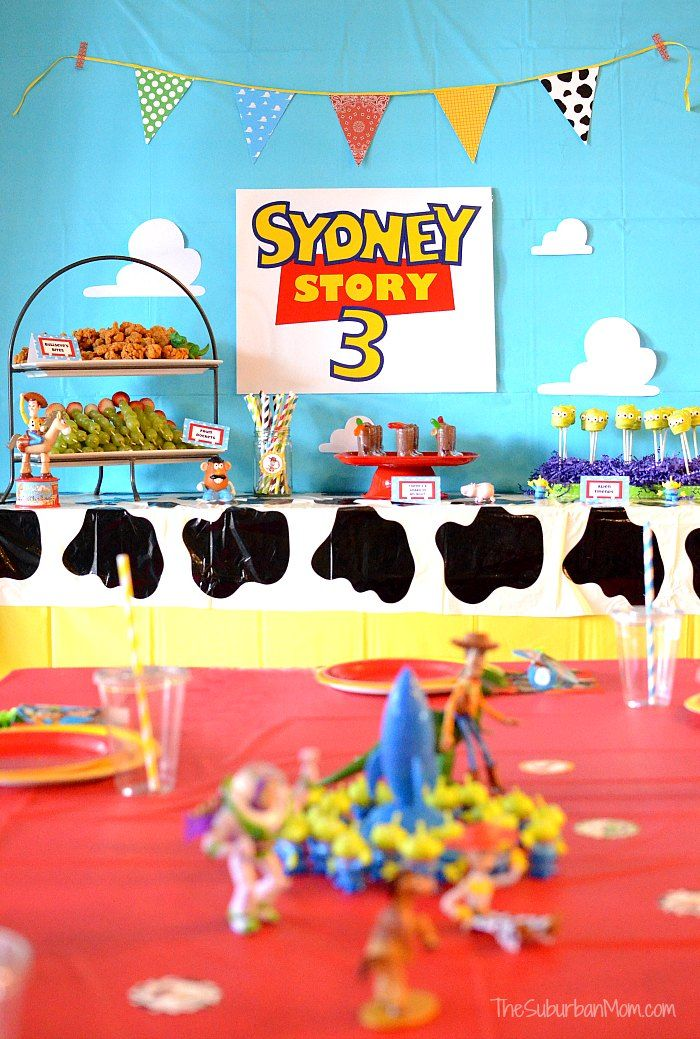 toy story birthday party ideas anniversaire toy story. Black Bedroom Furniture Sets. Home Design Ideas