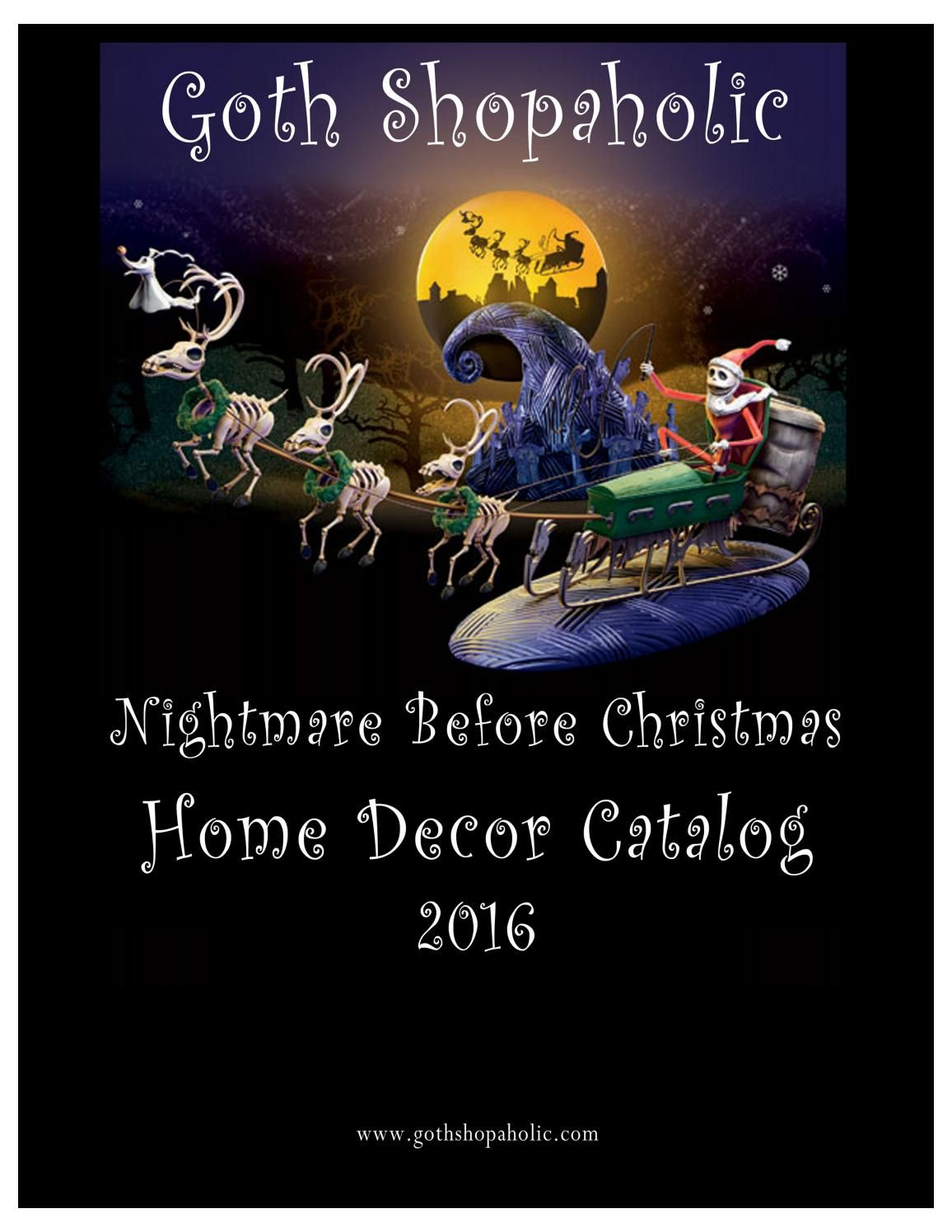nightmare before christmas home decor catalog 2016 jack pinterest nightmare before christmas nightmare before and christmas