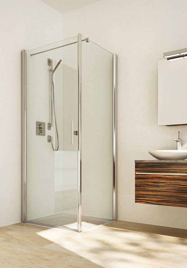TWISTLINE Pendeltür Dusche mit Seitenwand, ohne Fixteil