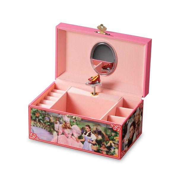 Glinda Dorothy Jewelry Box Over The Rainbow TMMC Turner