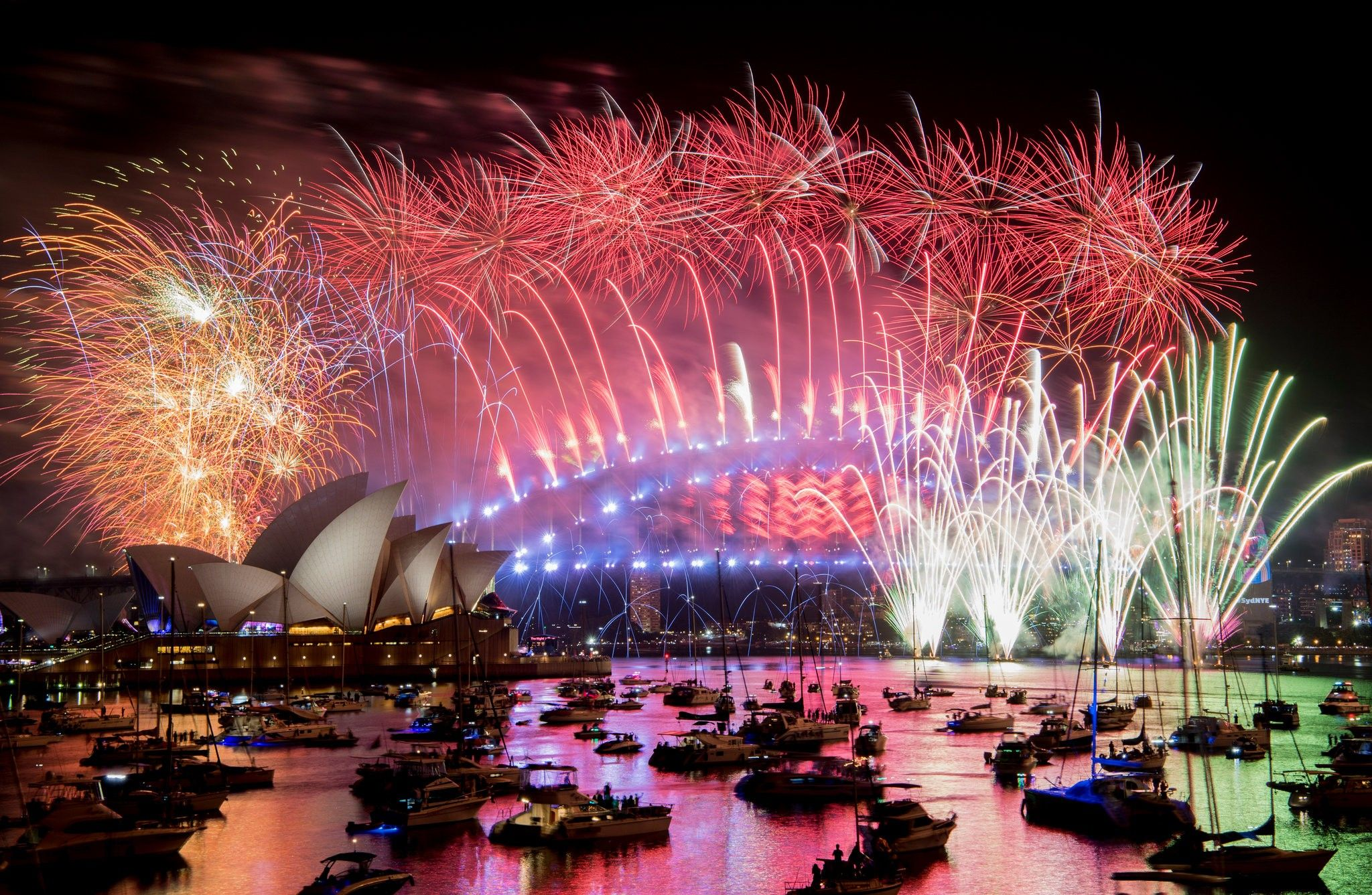 New Year S Eve Around The World Countdown To 2019 In Photos