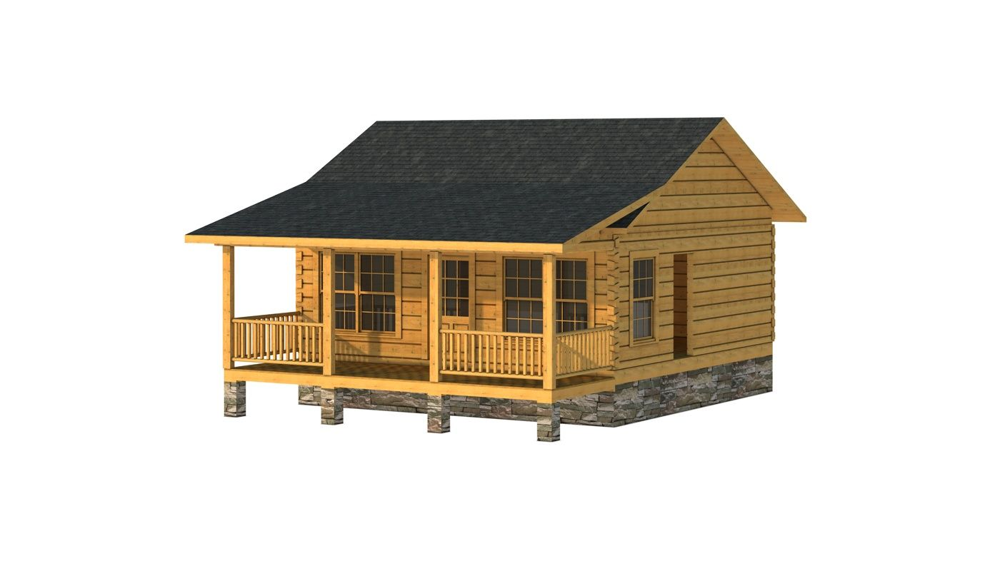 The Clark I Is One Of The Many Log Cabin Home Plans From