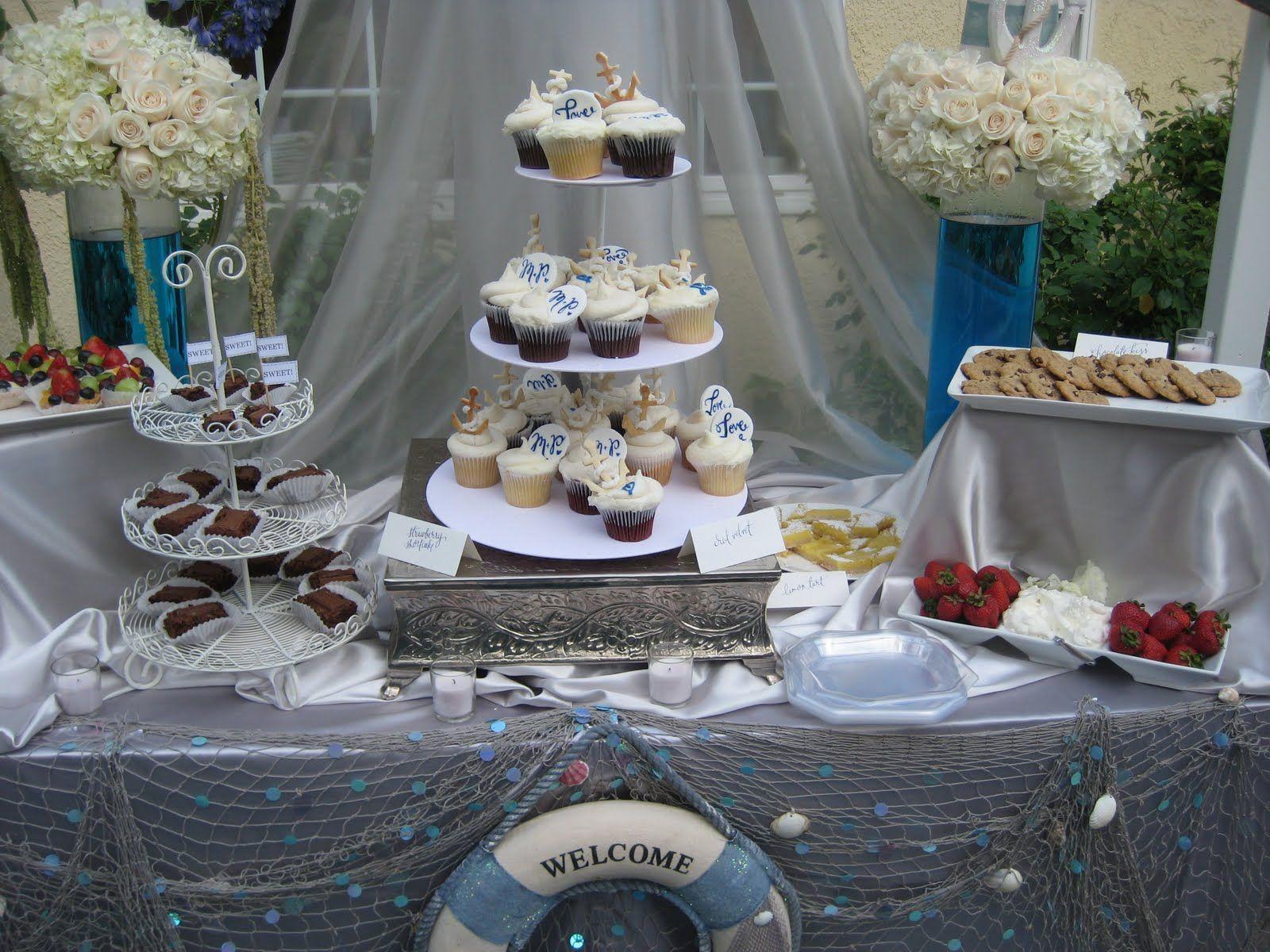 A Nautical Bridal Shower Bridal Shower Nautical Bridal Showers Beach Bridal Showers