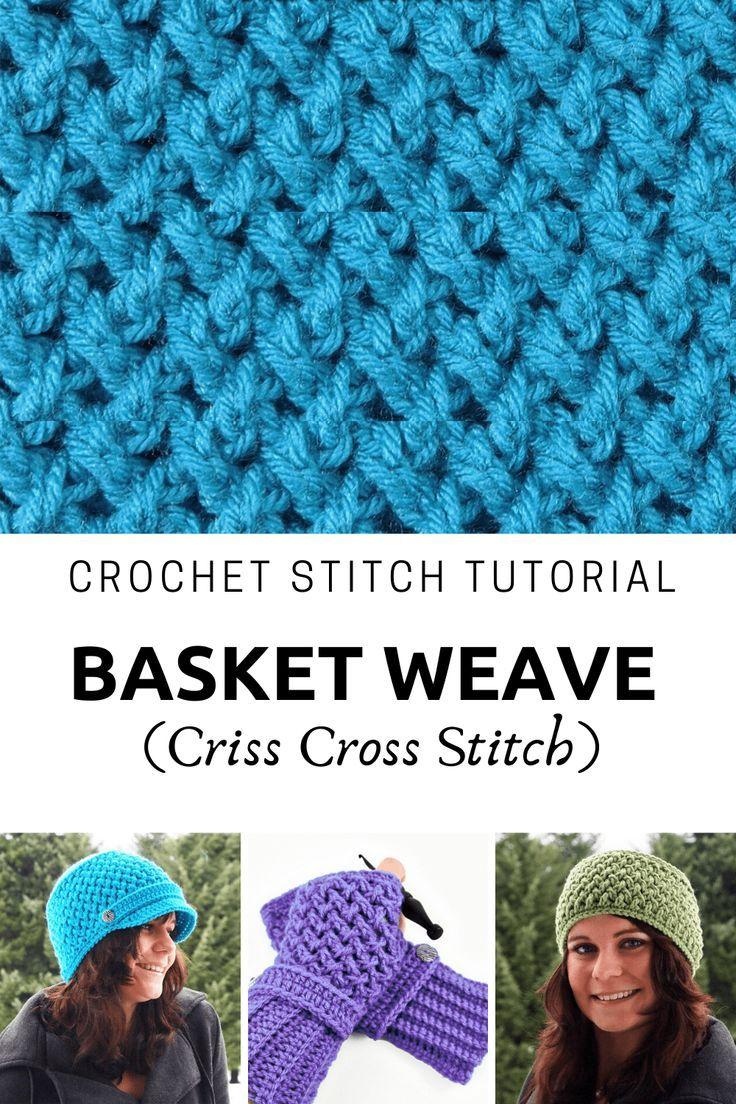 Photo Tutorial: Basket Weave or Criss Cross Stitch | Pattern Paradise