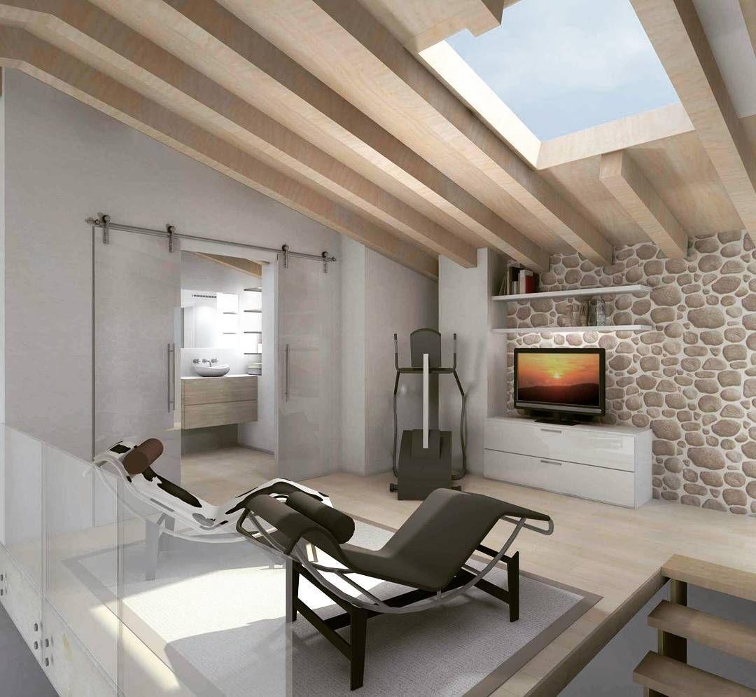 zona relax penthouse rendering mansarda zonarelax