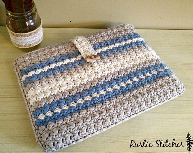 Crochet Laptop Case PDF Pattern | trapillo | Pinterest | MacBook Pro ...