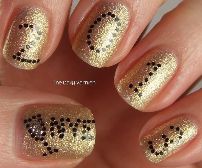 New Year S Eve Manicure Diana S Nail Art Manicure Pedicure
