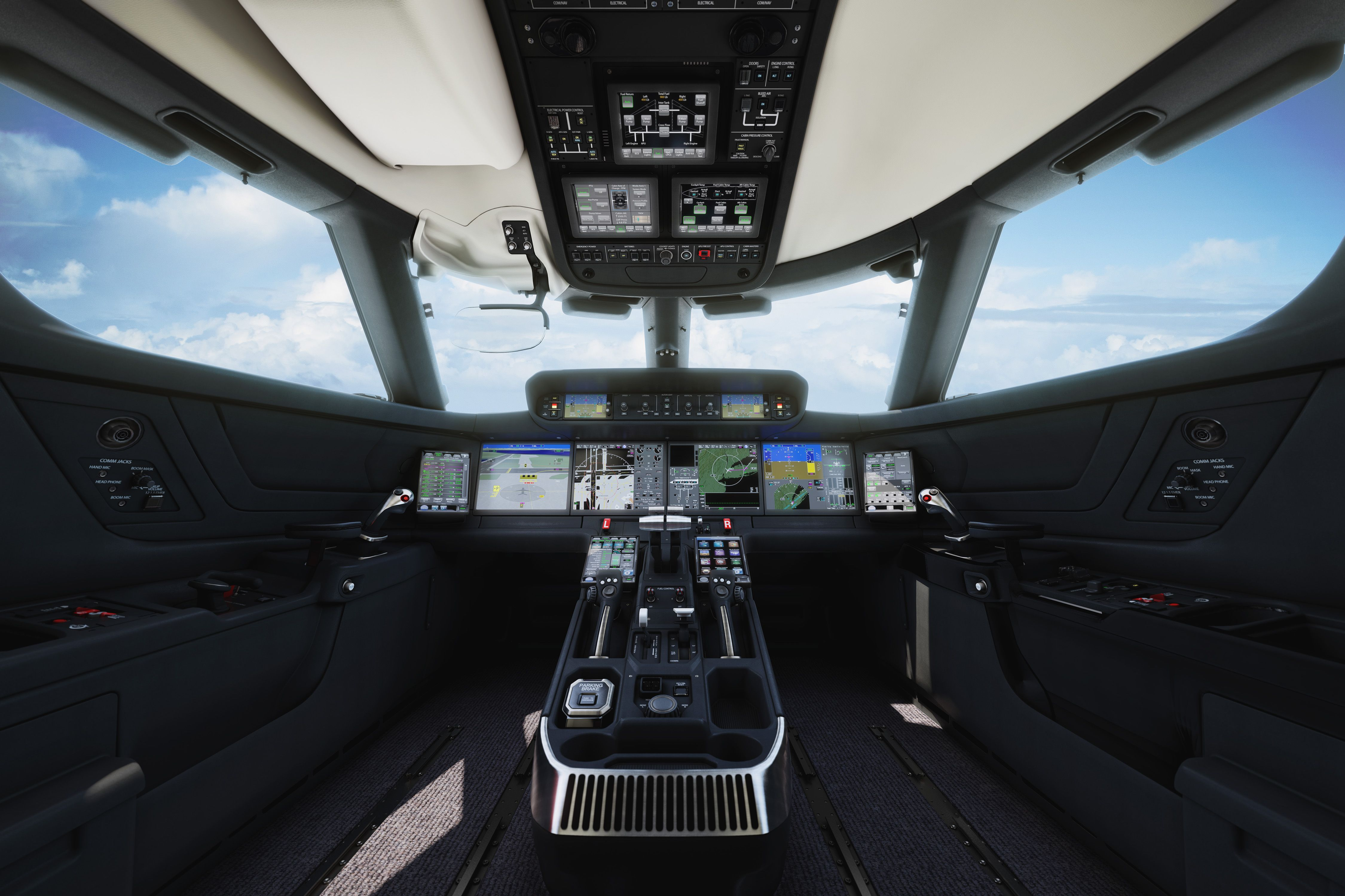 Phenom 300 cockpit phenom executive jet line leaders of innovation - Gulfstream Introduces New Aircraft Family Of Private Jets