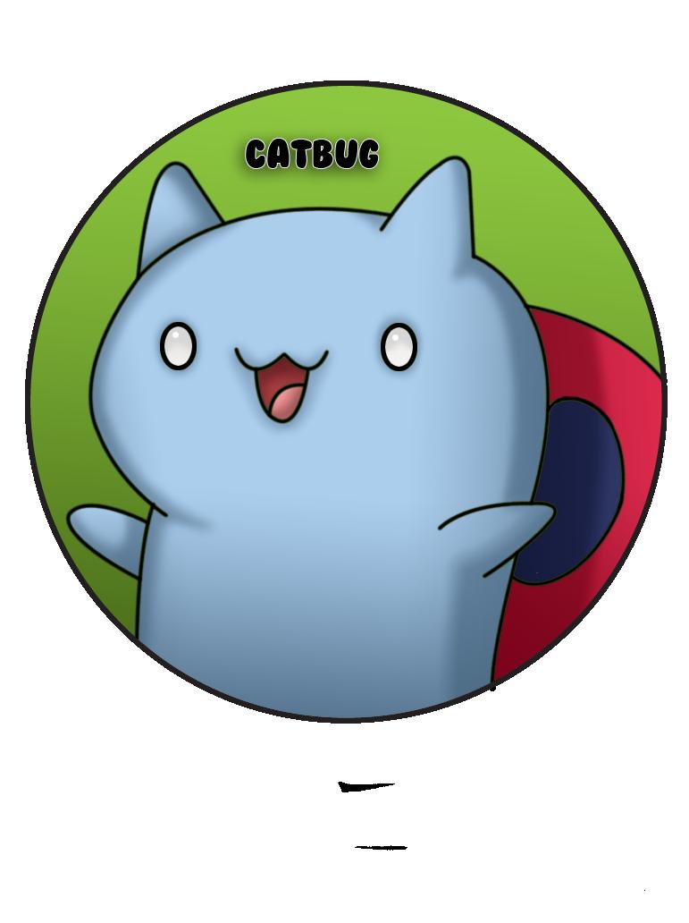 Catbug Pin by BrittanysDesigns.deviantart.com on @deviantART