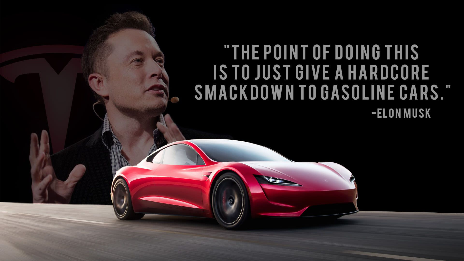 1920x1080] elon musk roadster wallpaper | reddit hd wallpapers