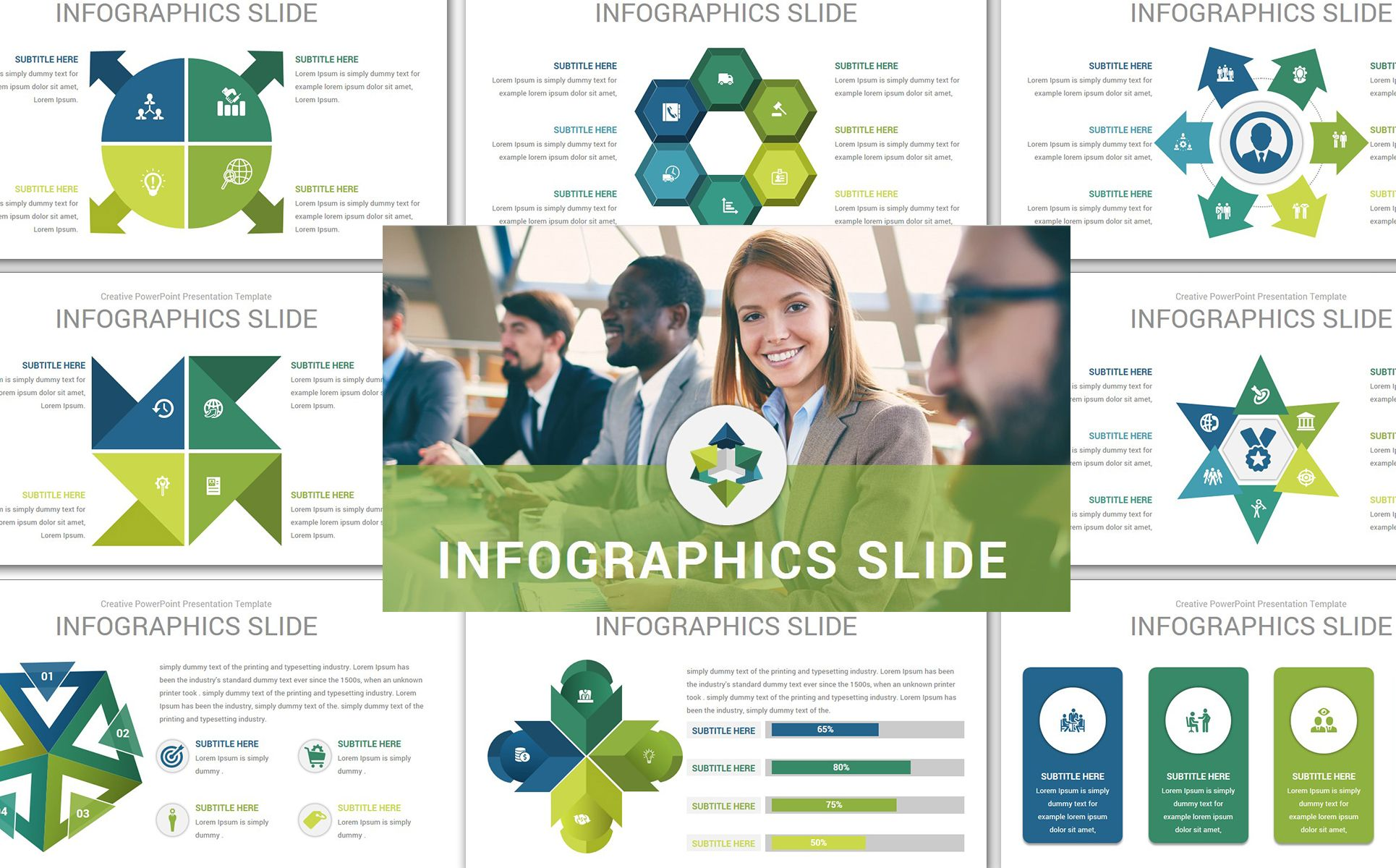 Mega Solutions Point Template Business Flyer Creative