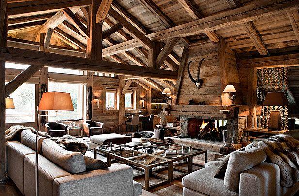 Chalet svizzero case di montagna for Interni case francesi