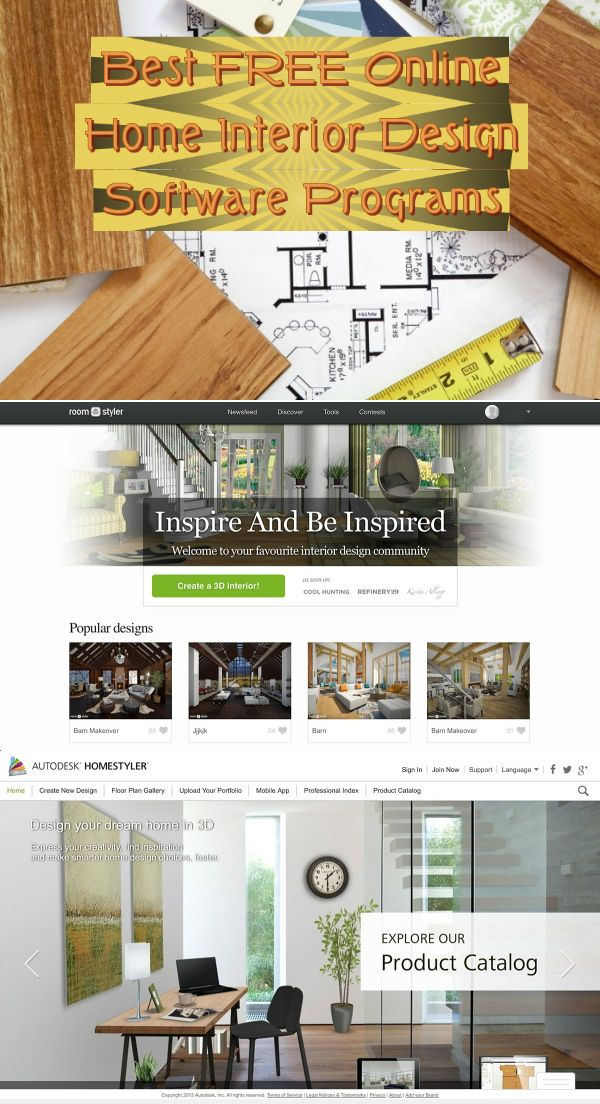 Best Free Online Home Interior Design Software Programs With Images Best Interior Design Websites Home Interior Design Learn Interior Design