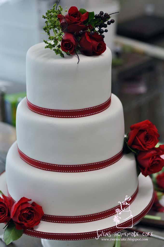 Red and white wedding cake google search wedding or shower red and white wedding cake google search junglespirit Image collections