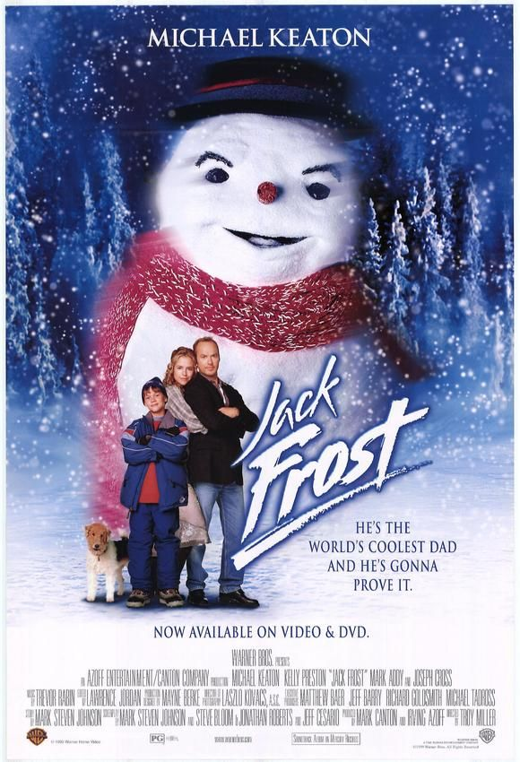 A Father Who Can T Keep His Promises Dies In A Car Accident One Year Later He Returns As A Snowman Who H Jack Frost Movie Kids Christmas Movies Jack Frost