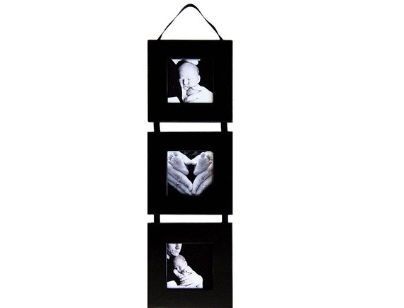 Three Square Opening Collage Picture Frame Set Three Frames On Ribbon 5x5 Picture Frame Sets Collage Picture Frames Decorative Wall Hooks