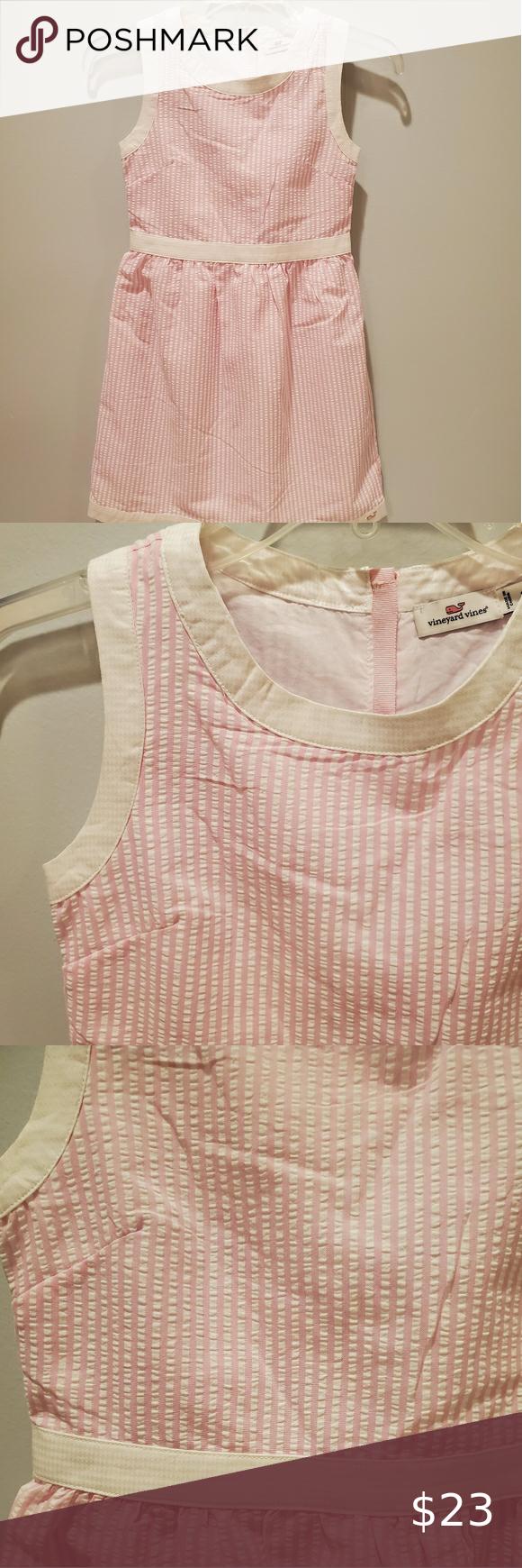 Vineyard Vines Seersucker Pink And White Dress Pink And White Dress Seersucker Dress Seersucker [ 1740 x 580 Pixel ]
