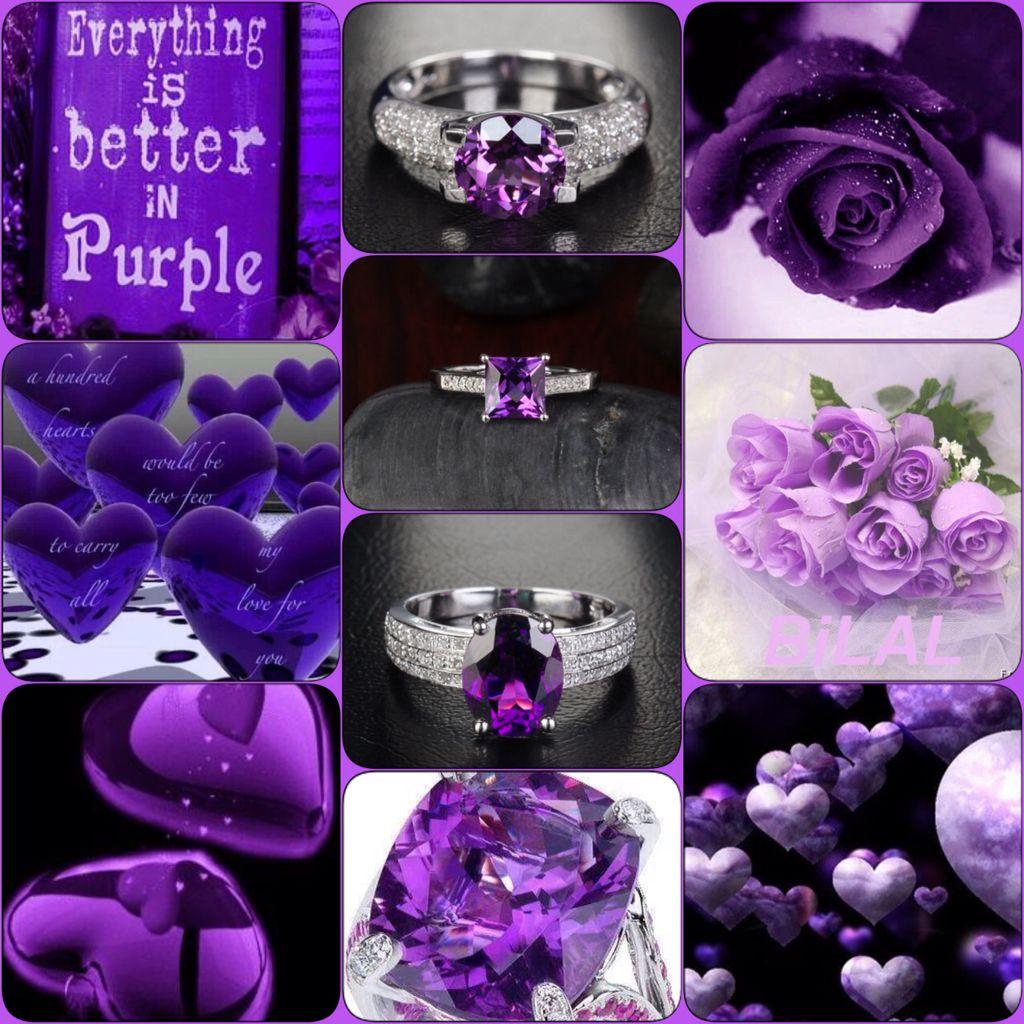 Better in Purple | Purple backgrounds, Color collage, Purple