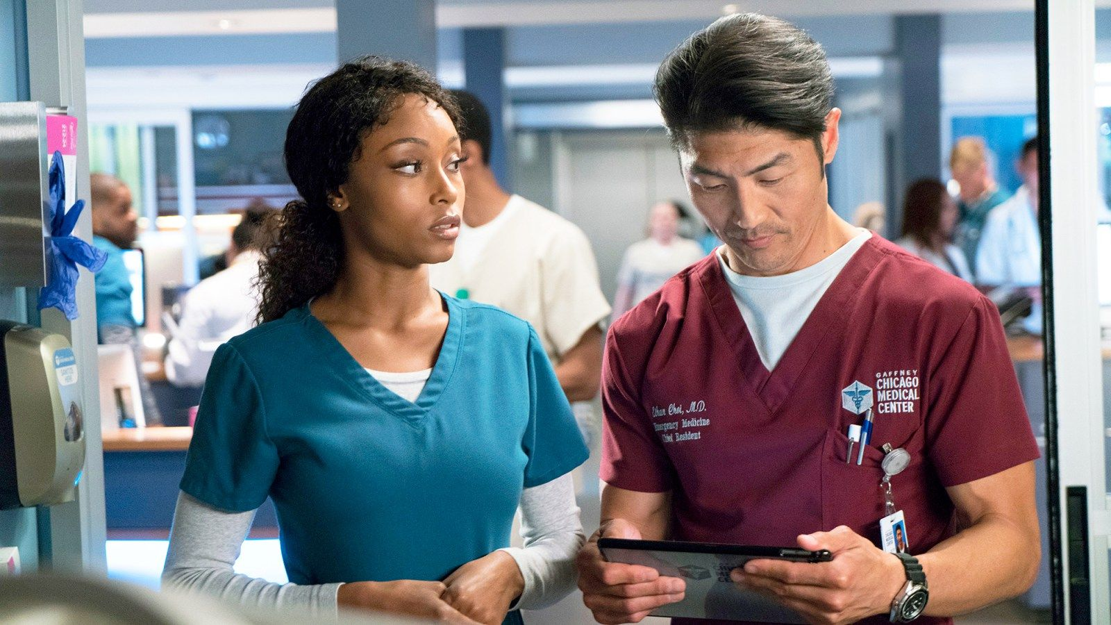 Chicago Med S Brian Tee On April And Ethan S Complicated