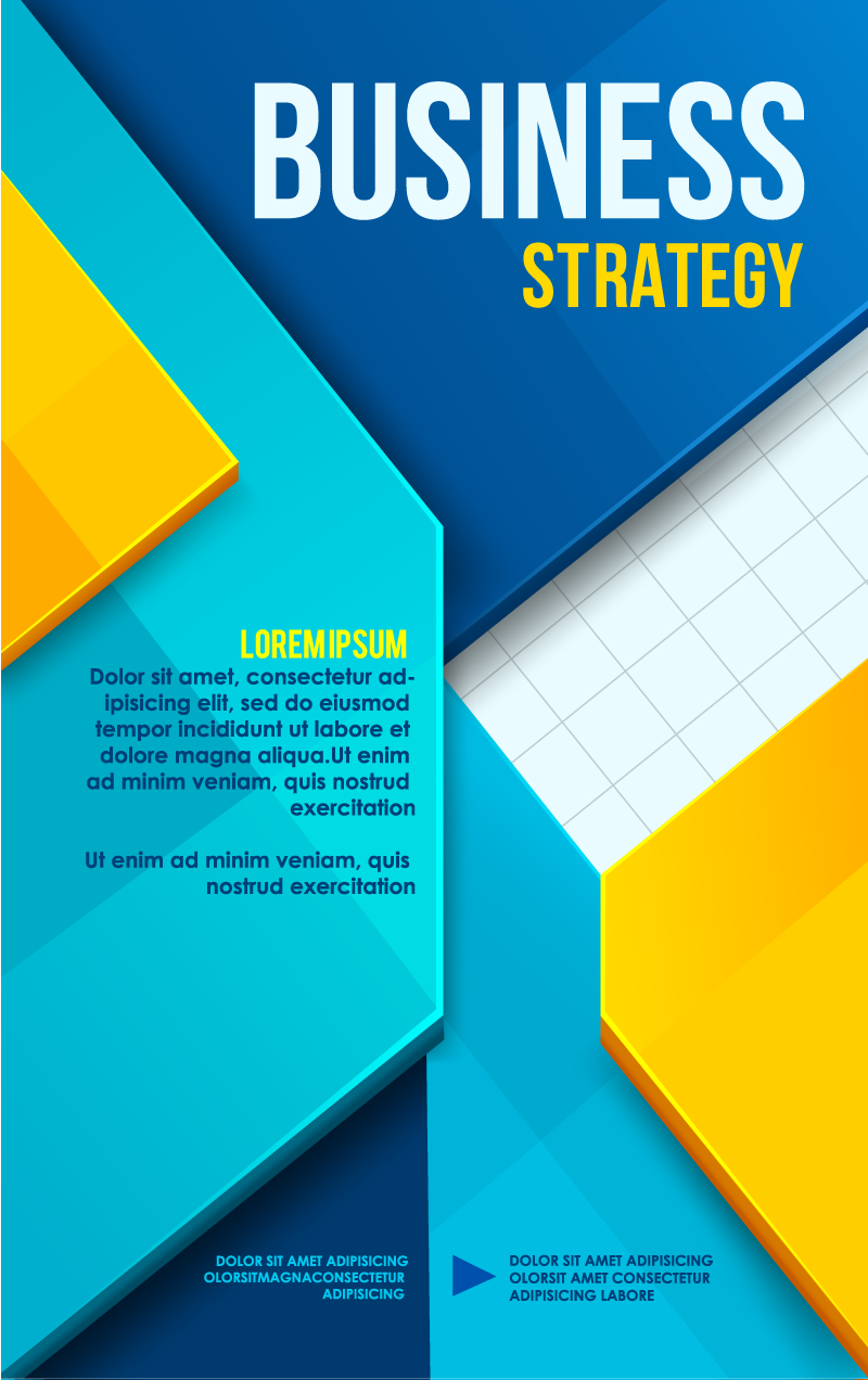business poster cover design vector free vector graphic download