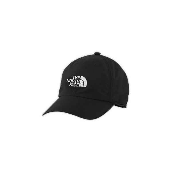 ce9f0f3e9 The North Face Women's Horizon Ball Cap ($25) ❤ liked on Polyvore featuring  accessories, hats, black, ball caps, ball cap hats, caps hats, baseball cap  and ...