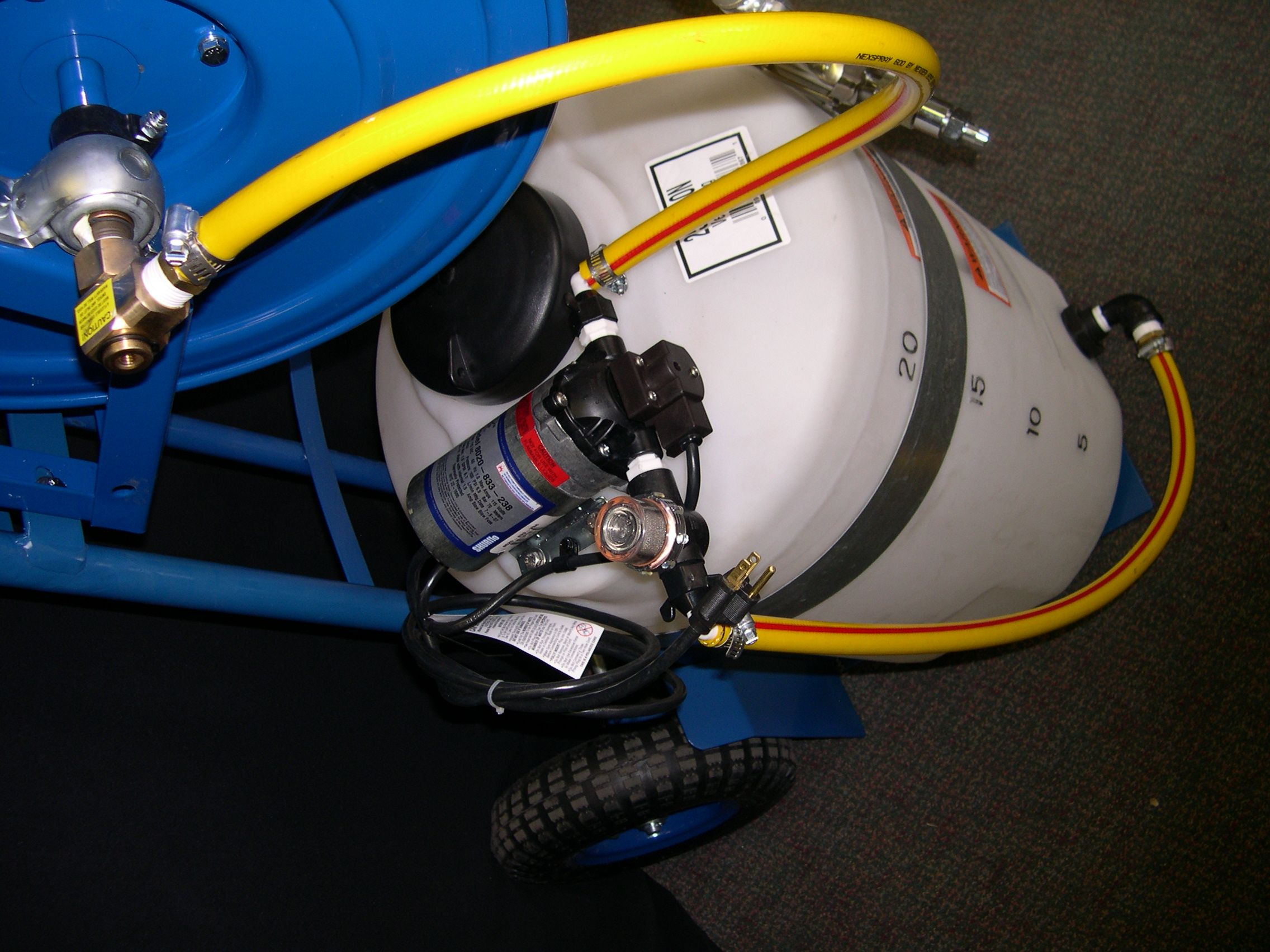 Shurflo pump and motor cox heavy duty hose reel heavy for 12 volt hose reel motor