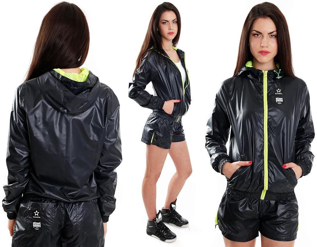 4b8bda98b7261 Endorfina Nylon Shorts and Windcheater | Shiny nylon | Adidas jacket ...