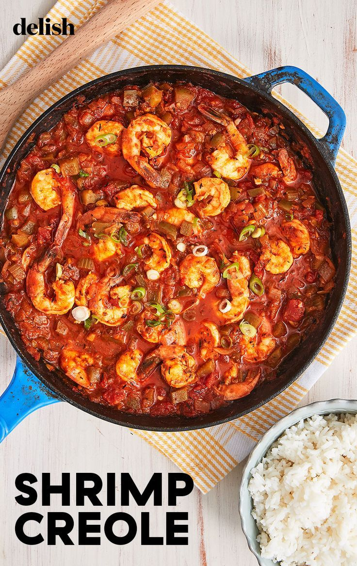 BRB, Eating This Entire Skillet Of Shrimp Creole