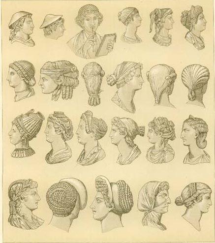 Greek Women S Hairstyles Greek Hair Ancient Greek Costumes Greek Fashion