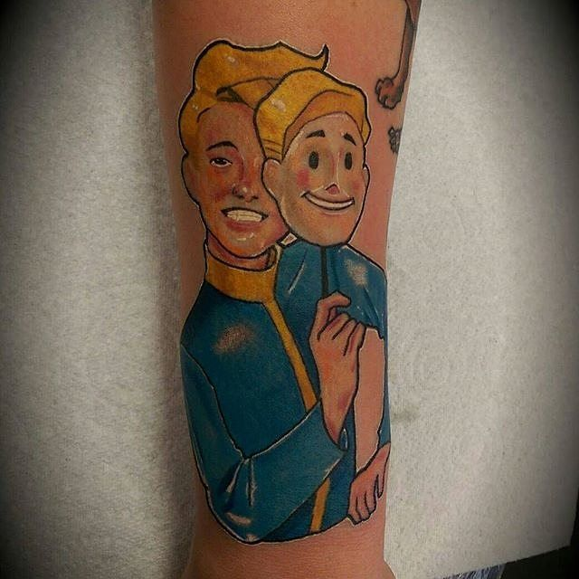 23 Best Fallout 4 Tattoo Ideas That You Can Share With