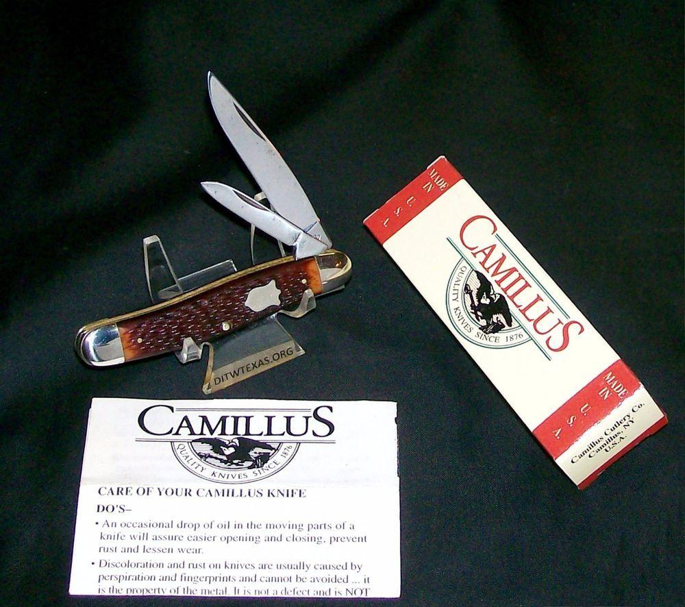 Camillus 751 Camco Knife Usa Super Jack 3 1 2 1950 S Peanut Trapper Packaging Ditwtexas Webstoreplace Com Camillus Camco Knife